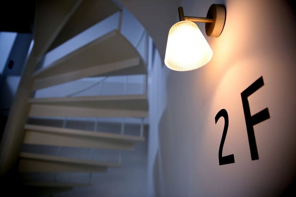 螺旋階段 2階