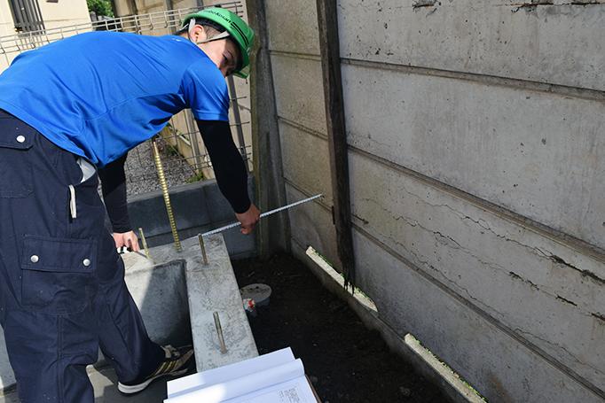 大久保恒産の小池番頭による測量