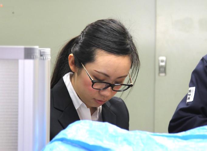 大久保恒産の新入社員赫景薇さんの写真
