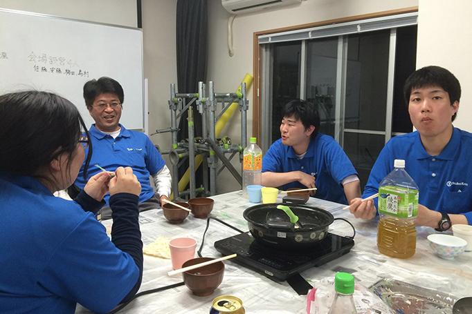 大久保恒産で働く松岡さんの写真