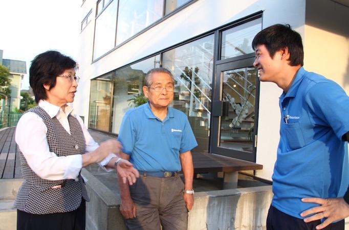 大久保恒産で働く磯崎さんの写真