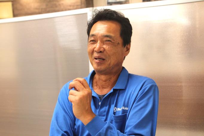 神奈川県にある足場の施工会社株式会社大久保恒産で働く低層工事部鈴木さんの写真