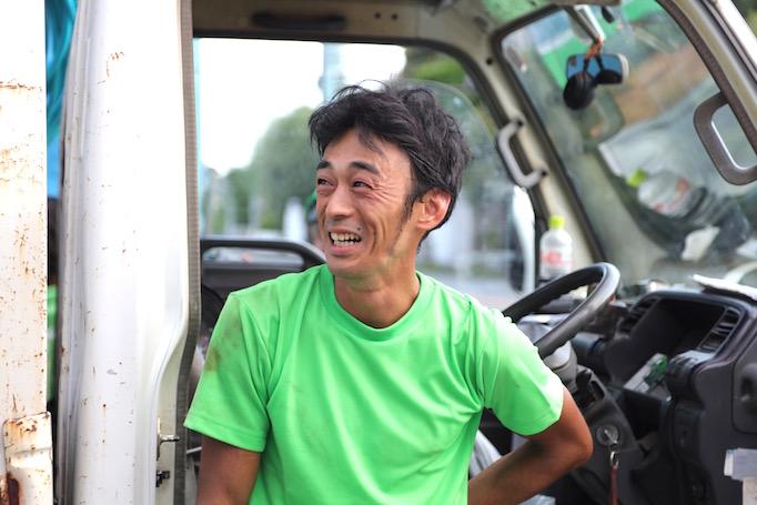 神奈川県にある株式会社大久保恒産で働く足場職人細井さんの写真