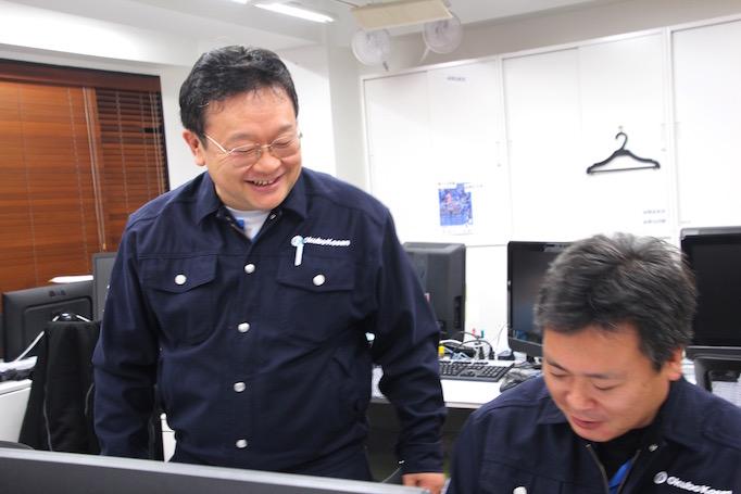 神奈川県青葉区にある足場施工会社 株式会社大久保恒産で工事事務として働く奥住さん