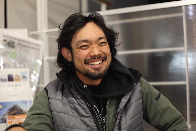 神奈川県青葉区にある足場施工会社 株式会社大久保恒産で足場職人として働く稼ぎ頭安永さんの写真