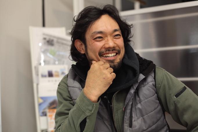 神奈川県青葉区にある足場施工会社 株式会社大久保恒産で低層工事部で足場職人として働く稼ぎ頭安永さんの写真