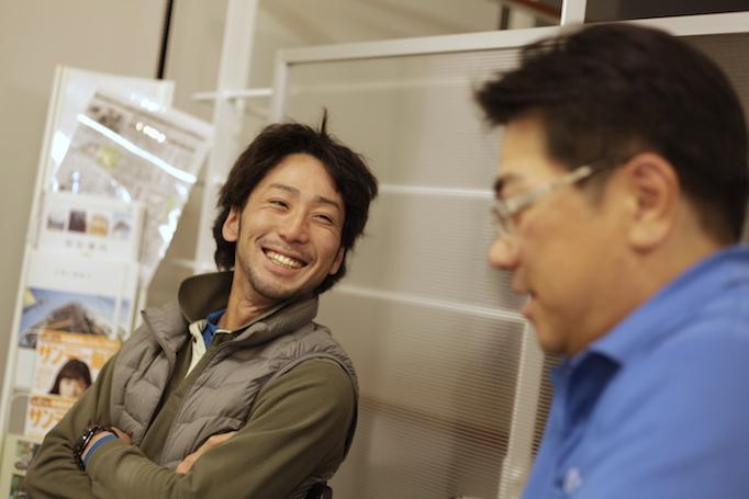 神奈川県青葉区にある足場施工会社 株式会社大久保恒産で足場職人として働く齋藤さんの写真